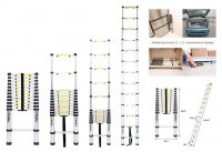Top 10 Best Telescoping Ladders for Home Use in Review
