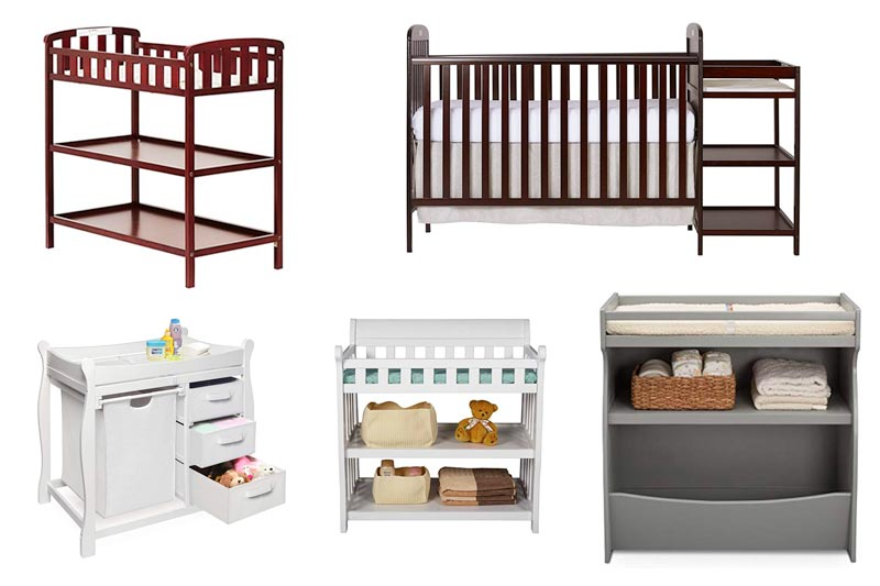 Best Baby Changing Table for Small Spaces in Review 2018