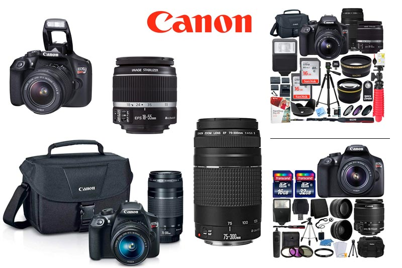 Best Canon DSLR Camera Bundle to Buy in Review 2018
