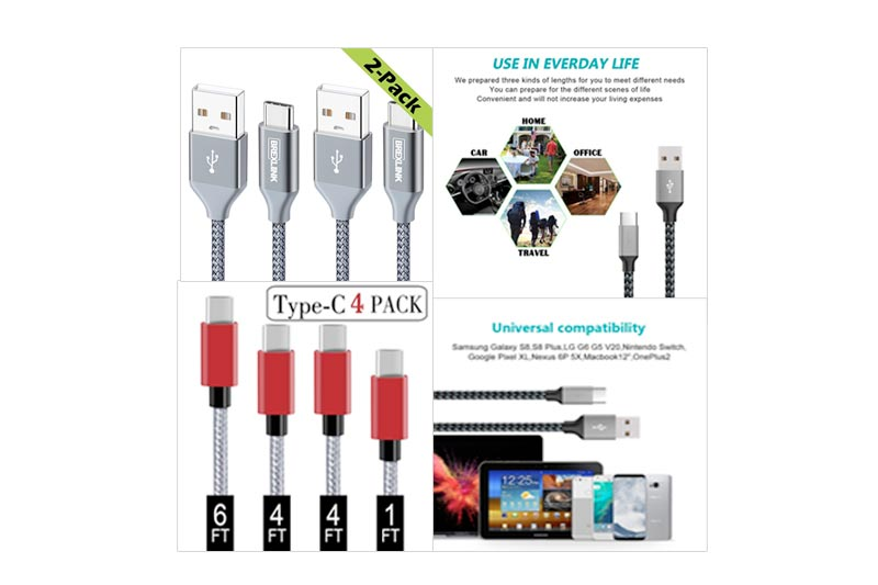Best Certified USB Type C Cable to Buy In Review 2018