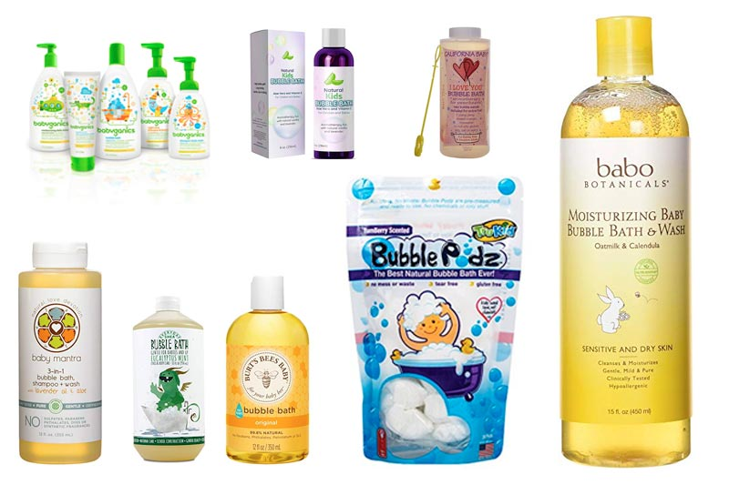 Best Natural Bubble Bath for Baby in Review 2018