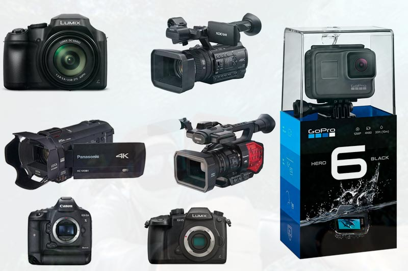 Best Professional 4k Video Camera to Buy in Review 2018