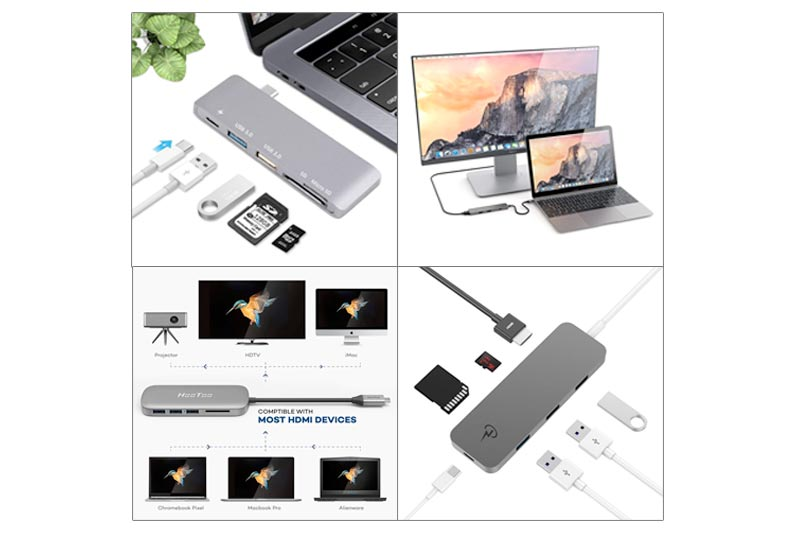 Best USB type C Hub for Macbook Pro in Review 2018