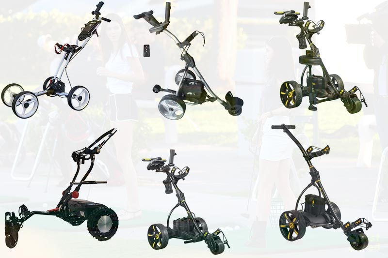 Best Electric Golf Push Carts: 10 Reviews, Including Battery Operated
