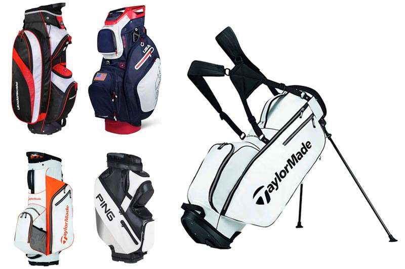 Best Golf Bags for Push Carts : 10 Reviews, 14 Ways