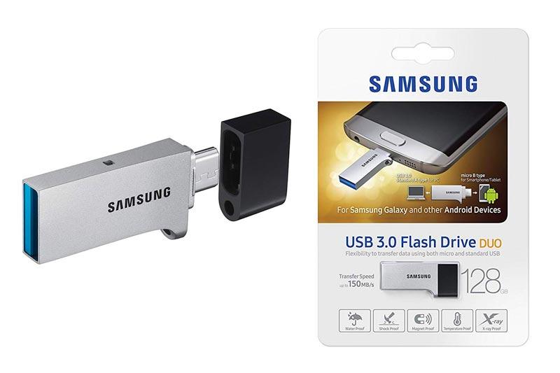 Samsung 128GB USB 3.0 Flash Drive Duo (MUF-128CB/AM)