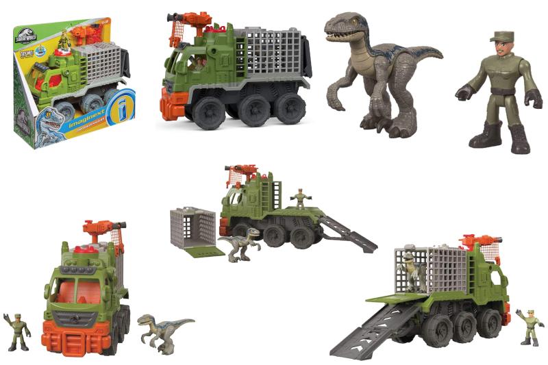 Fisher-Price Imaginext Jurassic World, Dinosaur Hauler Playset